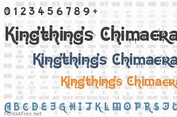 Kingthings Chimaera Font