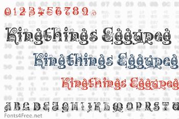 Kingthings Eggypeg Font