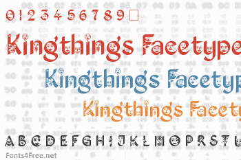 Kingthings Facetype Font