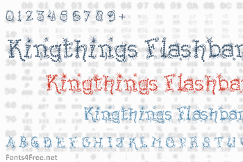 Kingthings Flashbang Font