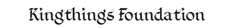 Kingthings Foundation Font Preview