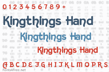 Kingthings Hand Font
