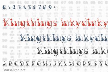 Kingthings Inkydinky Font