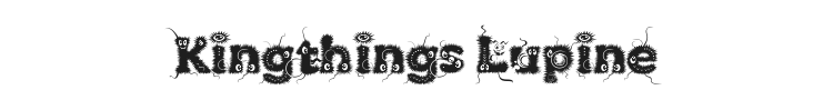 Kingthings Lupine Font Preview