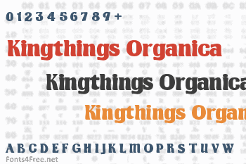 Kingthings Organica Font