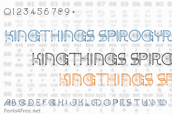 Kingthings Spirogyra Font