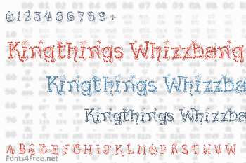 Kingthings Whizzbang Font
