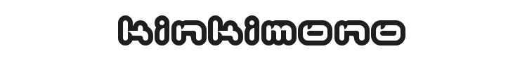 Kinkimono Font Preview