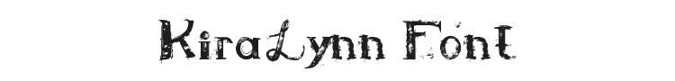 KiraLynn Font Preview