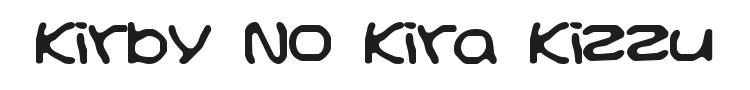 Kirby No Kira Kizzu Font