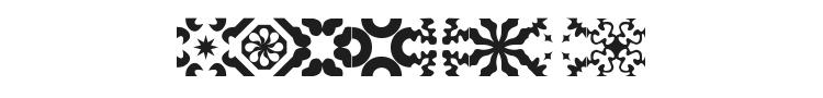 Kitchen Tile Font