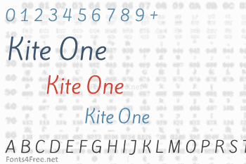 Kite One Font