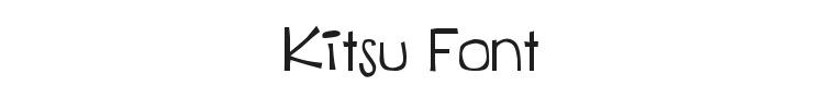 Kitsu Font Preview