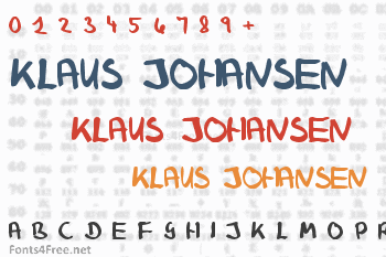 Klaus Johansen Font