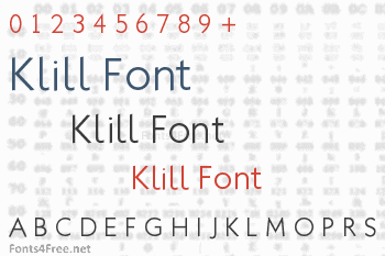 Klill Font