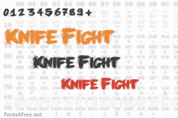 Knife Fight Font
