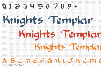 Knights Templar Font