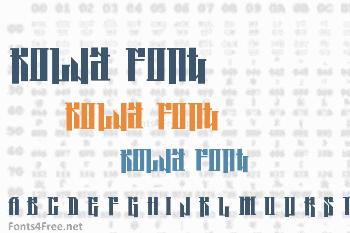 Kolja Font
