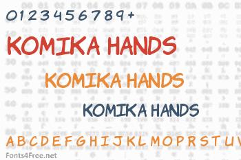 Komika Hands Font
