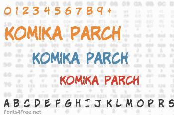 Komika Parch Font