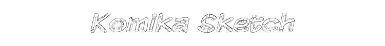 Komika Sketch Font