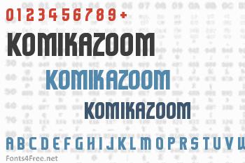 Komikazoom Font