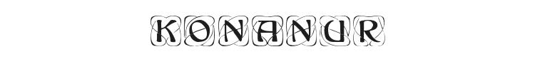 Konanur Font Preview