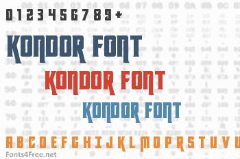 Kondor Font