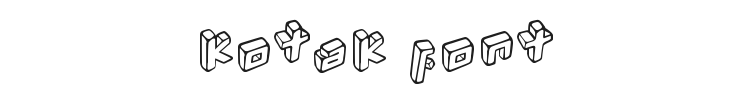 Kotak Font Preview