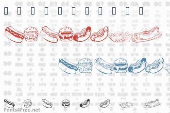 KR Fast Food Font