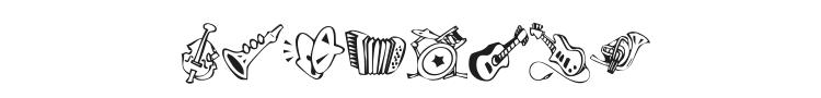 KR Music Class Font
