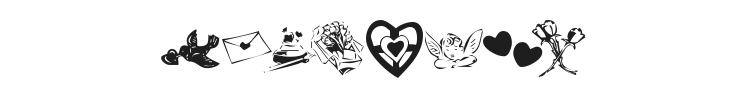 KR Valentine 2003 Font Preview