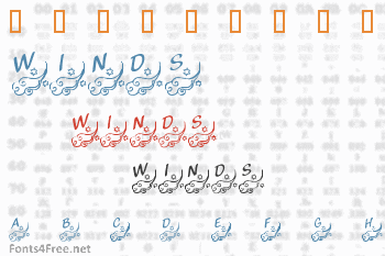 KR Winds of Change Font