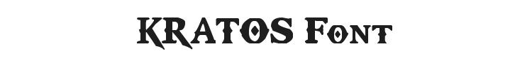 Kratos Truetype Font Preview