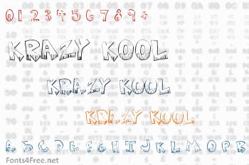 Krazy Kool Font