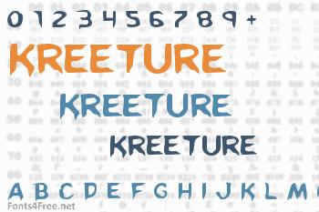 Kreeture Font