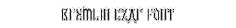 Kremlin Czar Font Preview