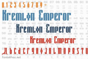 Kremlin Emperor Font