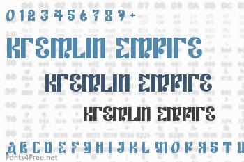 Kremlin Empire Font