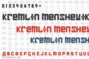 Kremlin Menshevik Font