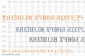 Kremlin Synod Display Caps Font