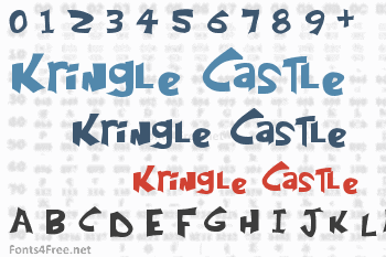 Kringle Castle Font