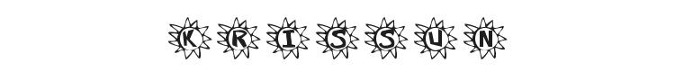 Krissun Font Preview