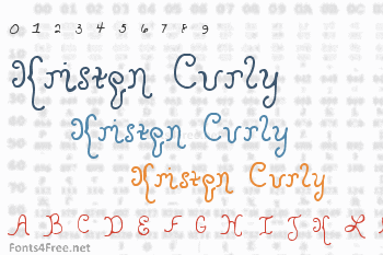 Kristen Curly Font