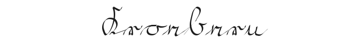 Kroebern Font Preview