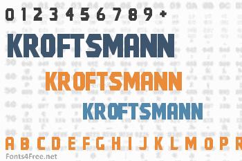 Kroftsmann Font