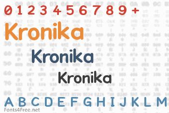 Kronika Font