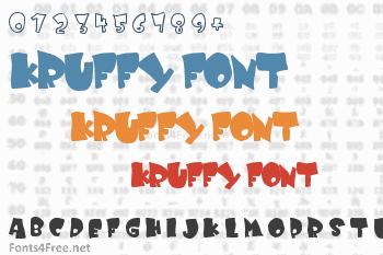 Kruffy Font