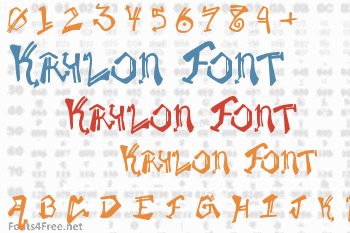 Krylon Font