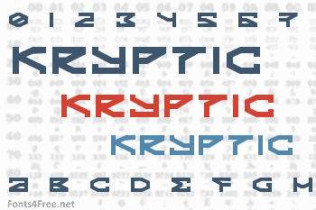 Kryptic Font